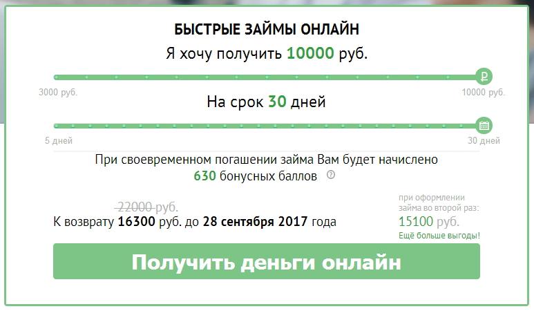 Заявка на займ по телефону позвонить