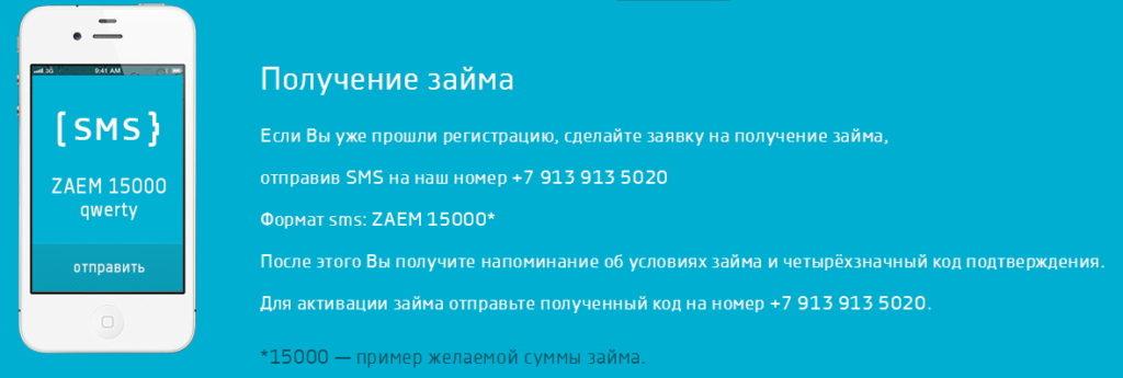 получение мини кредита