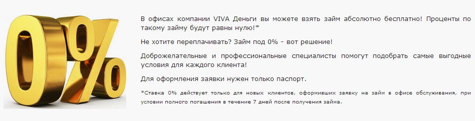 мини кредит под 0%
